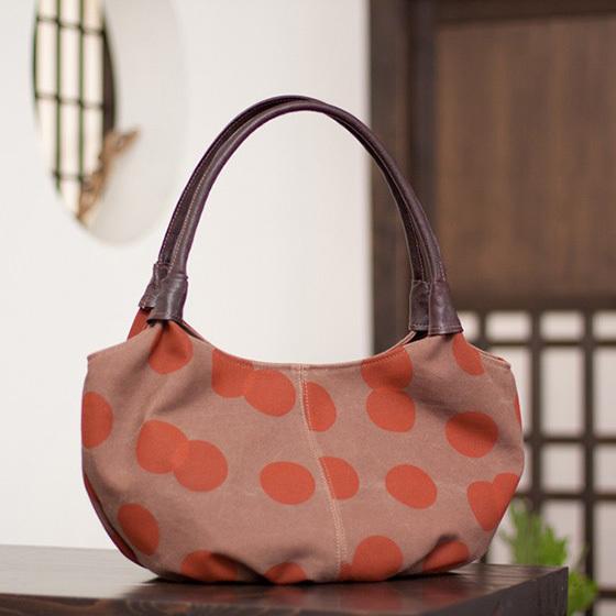 浴衣に合う京都帆布バッグ